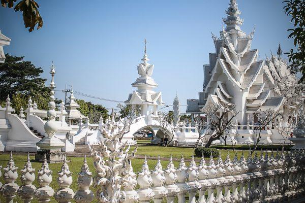 Chiang Rai - Temple Blanc